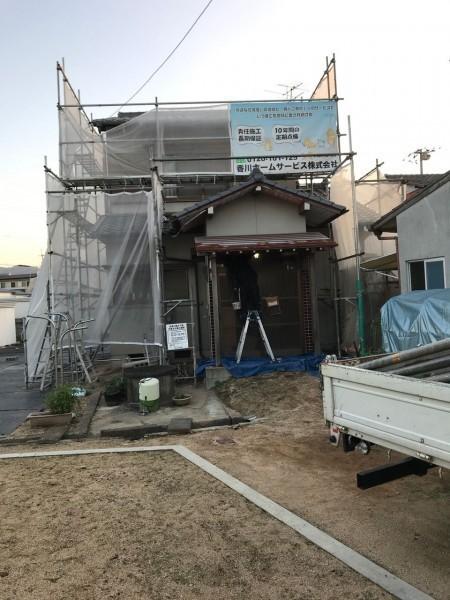 三木町N様 外壁塗装 トタン屋根張替え 香川・徳島ホームサービス