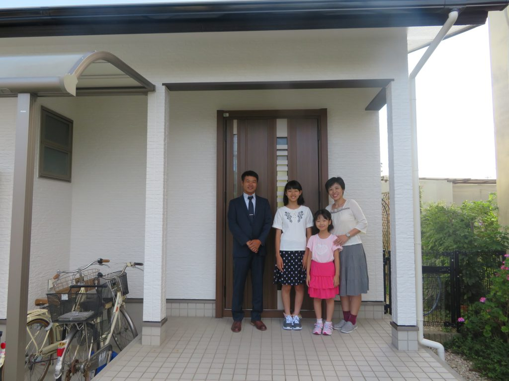 高松市T様 外壁・屋根塗装工事 玄関リフォーム 香川・徳島ホームサービス